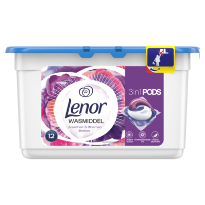 Lenor Pods 3 in 1 amethist & bloem