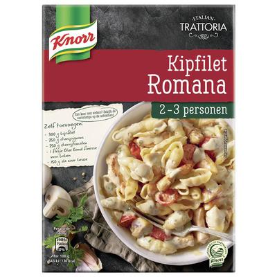Knorr Trattoria kipfilet Romana