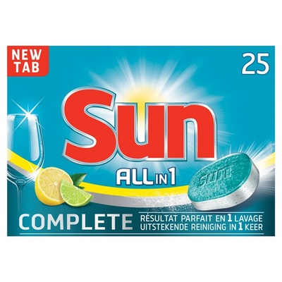 Sun All-in-1 vaatwastabletten Citroen
