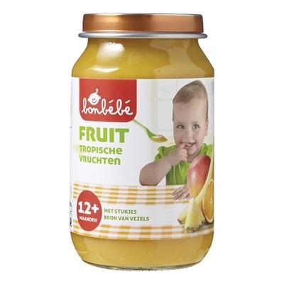 Bonbebe Baby/peuter fruithapje Tropische Vruchten
