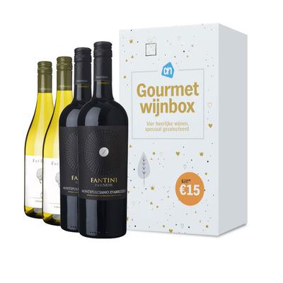 AH Gourmet wijnbox