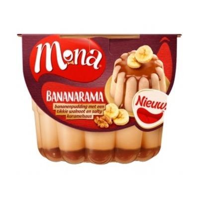 Mona Bananarama pudding