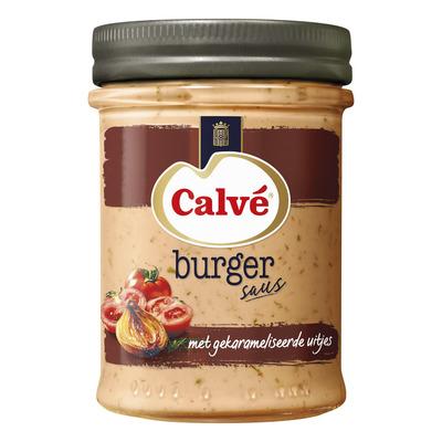 Calvé Burgersaus met gekarameliseerde uitjes