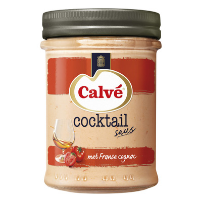 Calvé Cocktailsaus met Franse cognac