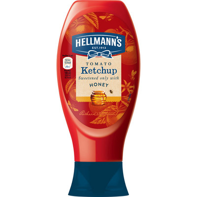 Hellmann's Ketchup sweetened with honey