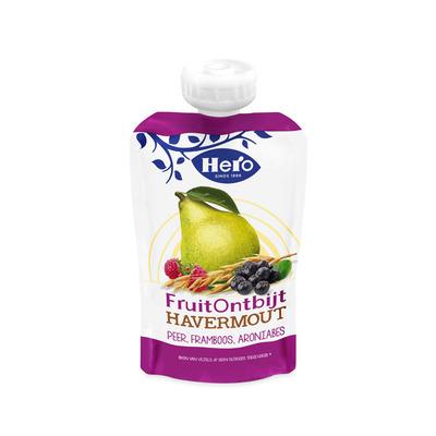 Hero Fruitontbijt havermout  peer & framboos