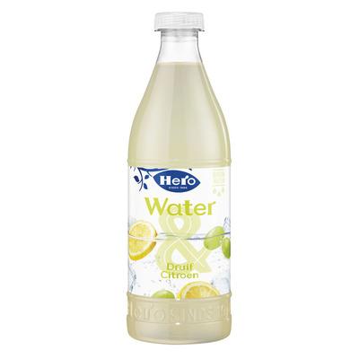 Hero Water & citroen en witte druiven