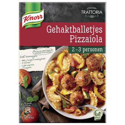 Knorr Trattoria gehaktballetjes alla pizzaiola