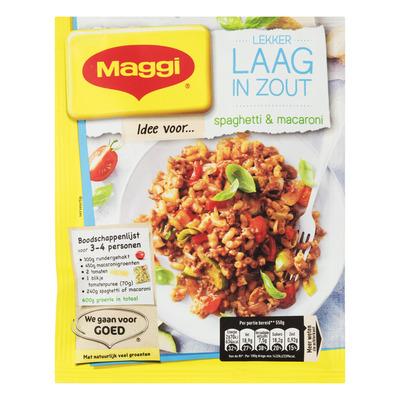 Maggi Lekker laag in zout spaghetti & mac
