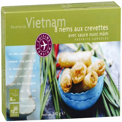 Picard Vietnamese loempia's met garnalen