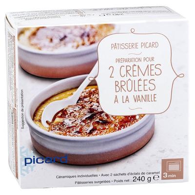 Picard Crème brûlées