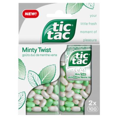 Tic-Tac Duopack Minty twist
