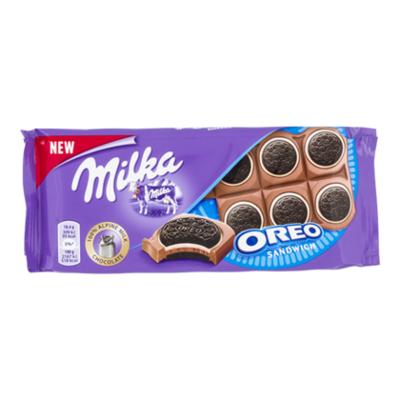 Milka Tablet oreo sandwich