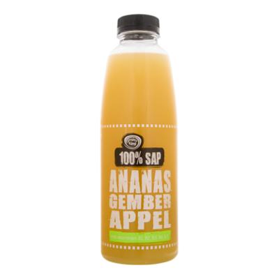Fruity King 100% sap ananas-appel-gember