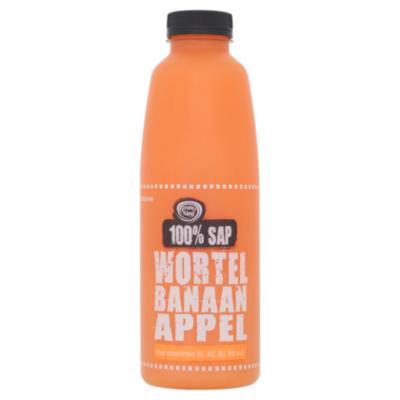 Fruity King 100% sap wortel-banaan-appel
