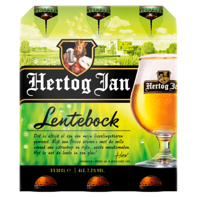 Hertog Jan Lentebock Flessen 6 x 30 cl