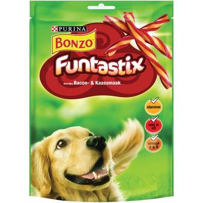 Bonzo hondensnack funtastix met bacon en kaassmaak