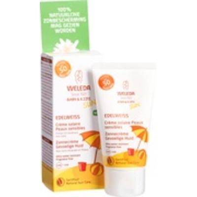 Baby en kids Edelweiss zonnecrème gevoelige huid SPF50
