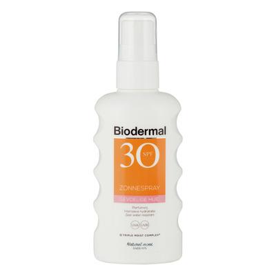 Biodermal Gevoelige huid zonnespray SPF 30