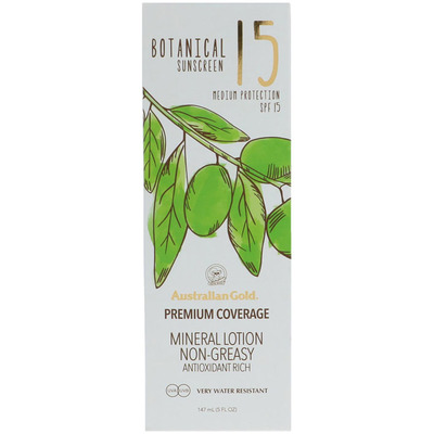 Australian Gold Botanical lotion SPF 15
