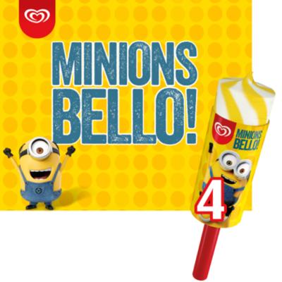 Ola Ijs Minions bello!
