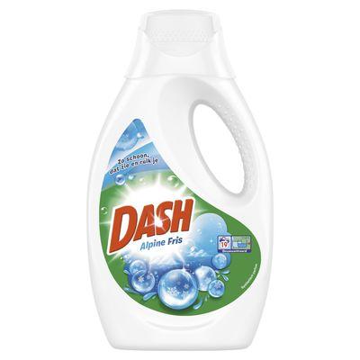 Dash Vloeibaar wasmiddel alpine fris 19 wasbeurten