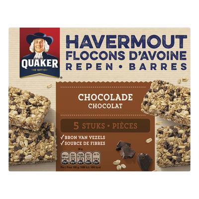 Quaker Havermoutrepen chocolade