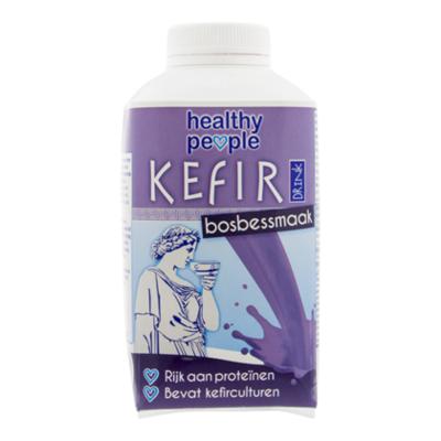 Healthy People Kefir drink blauwe bessensmaak