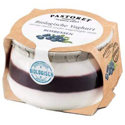Pastoret Biologische yoghurt bosbessen