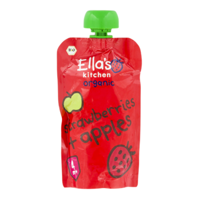 Ella's Kitchen Strawberries apples