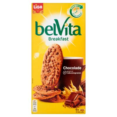 Liga belvita Breakfast Chocolade 24 Biscuits 300 g