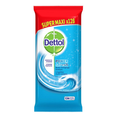 Dettol P&F ocean wipes