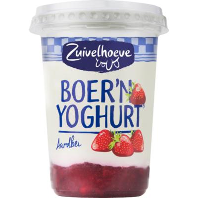 Zuivelhoeve Yoghurt aardbei