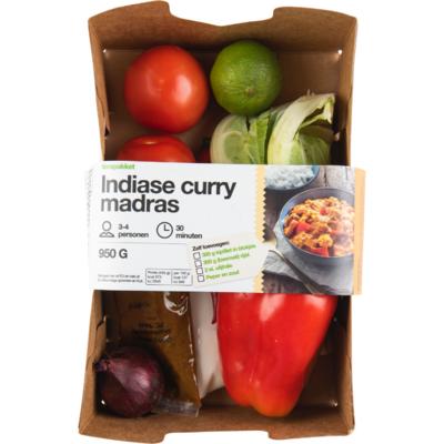 Verspakket curry madras