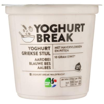 AH Yoghurtbreak aardbei-bessen