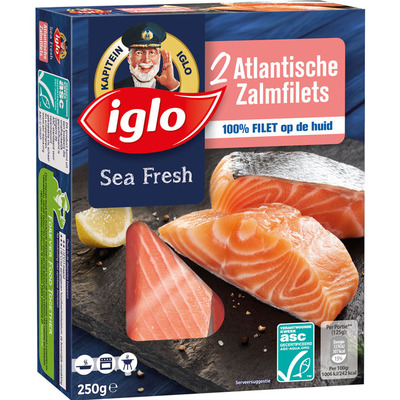 Iglo Atlantische zalmfilets