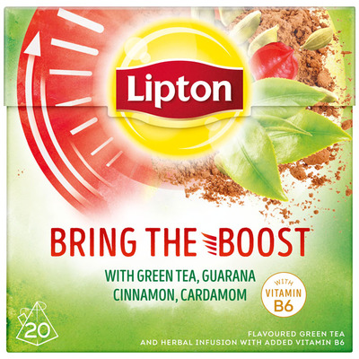 Lipton Bring the boost tea