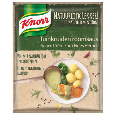 Knorr Natuurlijk lekker tuinkruiden roomsaus