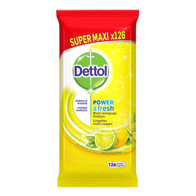 Dettol Wipes ctirus