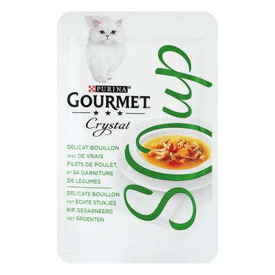 Gourmet Crystal soup met kip en groente