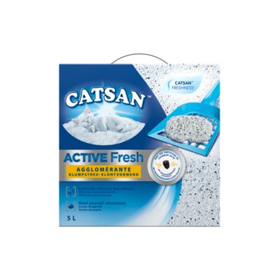 Catsan Active Fresh Klontvormend
