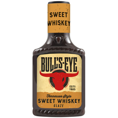 Bulls-eye Sweet whiskey glaze