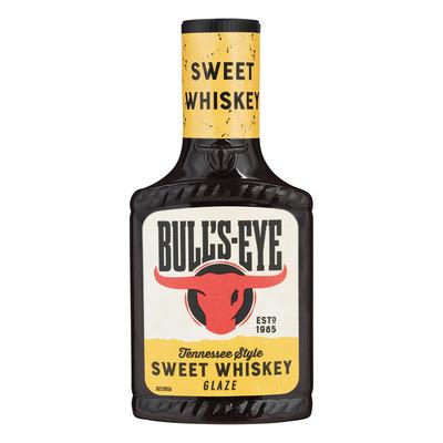Bulls-eye Sweet whiskey glaze