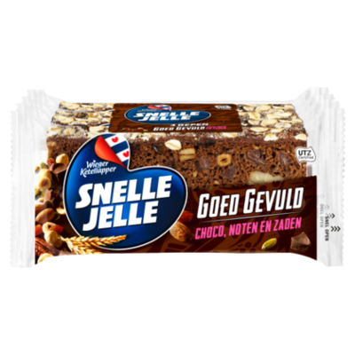 Snelle Jelle Goed gevuld choco 4-pack