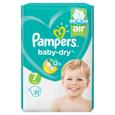 Pampers Baby dry pants xxl maat 7
