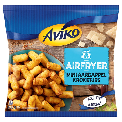Aviko Airfryer Mini Aardappelkroketjes 600 g