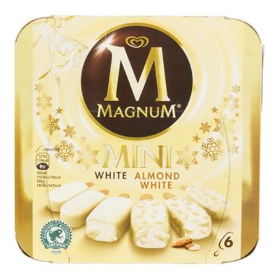 Ola Magnum mini white & white almond