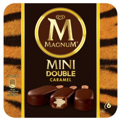 Ola Magnum mini double caramel 6 stuks