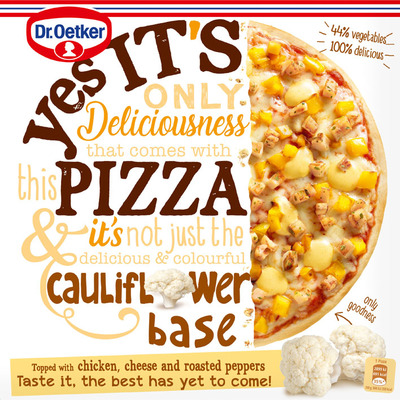 Dr. Oetker Yes it´s pizza cauliflower crust