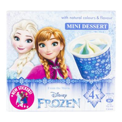 Disney Frozen mini desserts 4 stuks